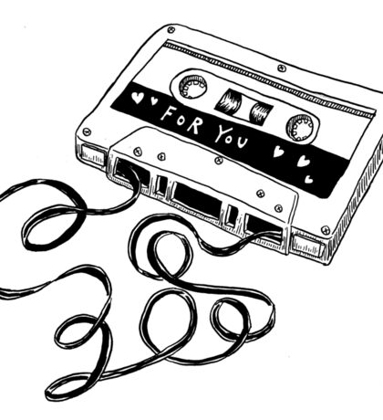 mix tape | vintage Sticker