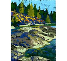 Belcarra. Water and rocks Photographic Print