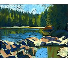 Belcarra. Inlet. Sunny summer Photographic Print