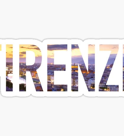 Firenze Florence Italy Sticker