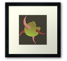 Tentacles instead of worms Framed Print