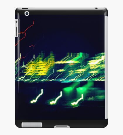 Abstract London city view. iPad Case/Skin