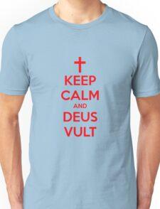 Keep Calm And Deus Vult Unisex T-Shirt