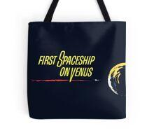 First Spaceship On Venus Tote Bag