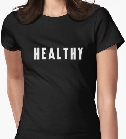 Madonna - Healthy Womens Fitted T-Shirt