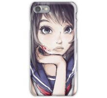 Yandere Chan iPhone Case/Skin