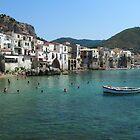 Cefalu, Sicily by Janone