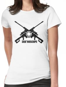360 NoScope Womens Fitted T-Shirt