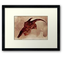 Nothing But Flowers Framed Print