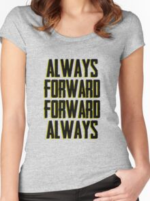 Always Forward Forward Always - Luke cage Women's Fitted Scoop T-Shirt