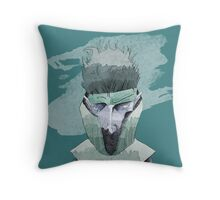 Carrier Boy Throw Pillow