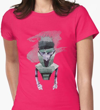 Carrier Boy Womens Fitted T-Shirt
