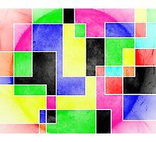 Colour Pieces Photographic Print
