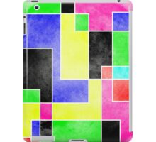 Colour Pieces iPad Case/Skin