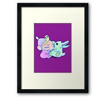 Magical Pet ( For Baby Girl) Framed Print