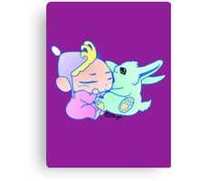 Magical Pet ( For Baby Girl) Canvas Print