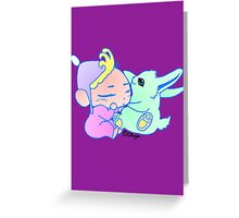 Magical Pet ( For Baby Girl) Greeting Card