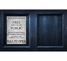 The Box - Door Photographic Print