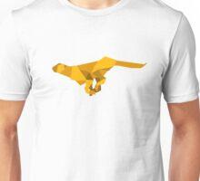 origami made  running Cheetah Unisex T-Shirt