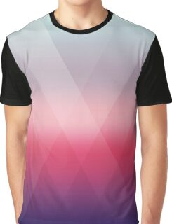 Fading Geometry Graphic T-Shirt