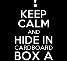 Keep Calm and Cardboard Box by PaulRoberts