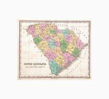 Vintage Map of South Carolina (1827) Unisex T-Shirt