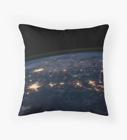 NASA Space Throw Pillow