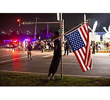 Distress in Ferguson Photographic Print