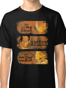The Alien, the Android & the Demon Classic T-Shirt