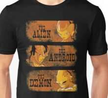 The Alien, the Android & the Demon Unisex T-Shirt