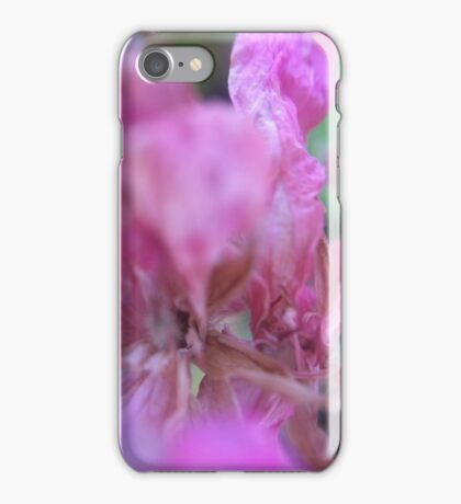 Abstract pink iPhone Case/Skin