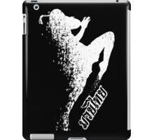 muay thai thousand kick fighter iPad Case/Skin