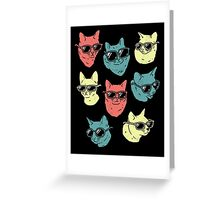 Cat Shirt Greeting Card