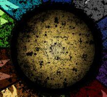 Grunge Guild Wheel Sticker
