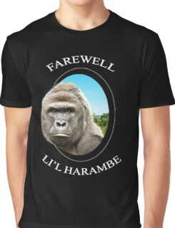 Farewell Li'l Harambe Graphic T-Shirt