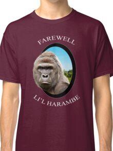 Farewell Li'l Harambe Classic T-Shirt