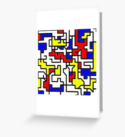 Primary Circuits Greeting Card