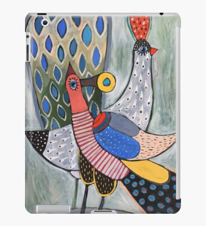 Birds - Oil Painting iPad Case/Skin