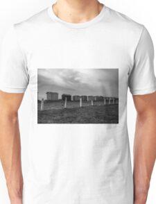 Beach Huts Unisex T-Shirt