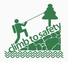 Climb To Safety Green by Music