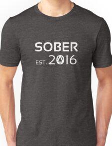 SOBER est. 2016 (AA) Unisex T-Shirt