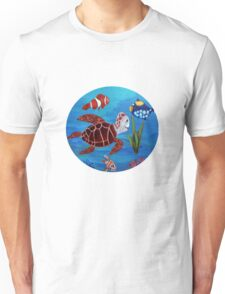 Swimming the sea Unisex T-Shirt
