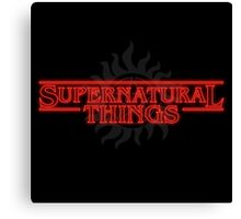 Supernatural Things Canvas Print