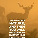 Look Deep Into Nature by Edward Fielding