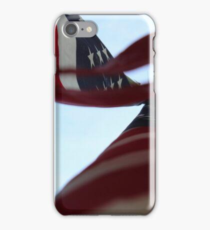 Flag Waving High iPhone Case/Skin