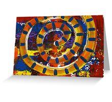 Tiger Spiral Greeting Card