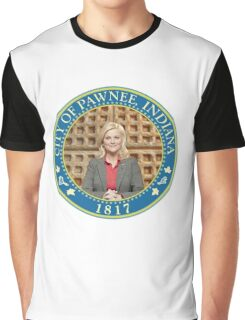 Parks and Rec Pawnee Seal Graphic T-Shirt