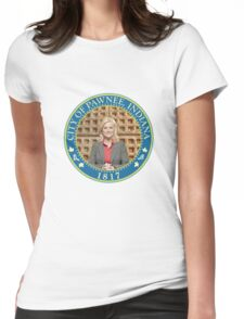Parks and Rec Pawnee Seal Womens Fitted T-Shirt