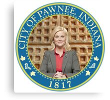 Parks and Rec Pawnee Seal Canvas Print
