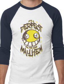 Perfect Day for Mayhem Men's Baseball ¾ T-Shirt